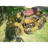 1926 Harley Davidson JD Gespann