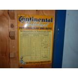 Continental Luftdienst für Kraftrad und Auto - Blechschild 48x34 cm