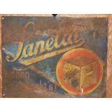 Sanella Blechschild 93 x 72 cm, Original