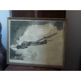 Ju 88 Sturzbomber Originalaufnahme - Foto - gerahmt 40er Jahre