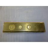 Oldtimerarmaturenbrett Made in USA u.a von Nagel Electric Toledo Amperemeter, Ölanzeige, Schalter
