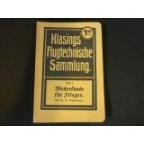 Klasings Flugtechnische Sammlung- Band 4 - Wetterkunde für Flieger, 1917