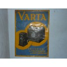 Varta Batterien Blechschild 70 x 51 cm
