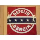 Emailleschild  Dapolin-Benzin  54 x 54 cm