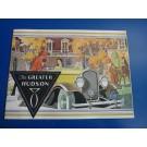 The Greater  Hudson - Prospekt 1931 - in deutscher Sprache-