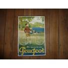 Peugeot Plakat Original 60 x 40 cm,
