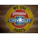 Chevrolet Blechschild 355mm