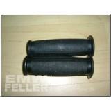 Paar Griffgummis schwarz, passend für EMW R35,Rt, Bk,AWO,alte Fo