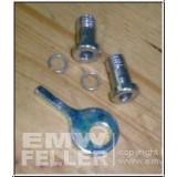 2 Schrauben Werkzeugfach passend für EMW R35 + Schlüssel
