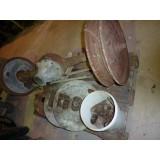 Adler Standard 6 Hinterache , 2 Felgen,  Bremsenteile
