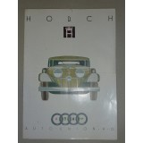 Horch Verkaufsprospekt,technische Beschreibung