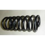 Sattelfeder für Fahrersattel passend für EMW R35-3, schwarz pulverbeschichtet