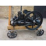 Ergon- Kosmos Stationärmotor  um 1905-1910, restauriert