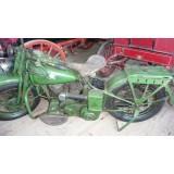 1942 WLA Harley Davidson, sehr original und erhaltenswert in diesem Zustand- VERKAUFT! SOLD!