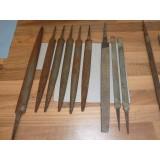 alte Holzfeilen groß und klein, grob und fein + Rattenschwänze groß und klein