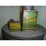 Auto Kollag - Kanister Graphit - Öl im Duett